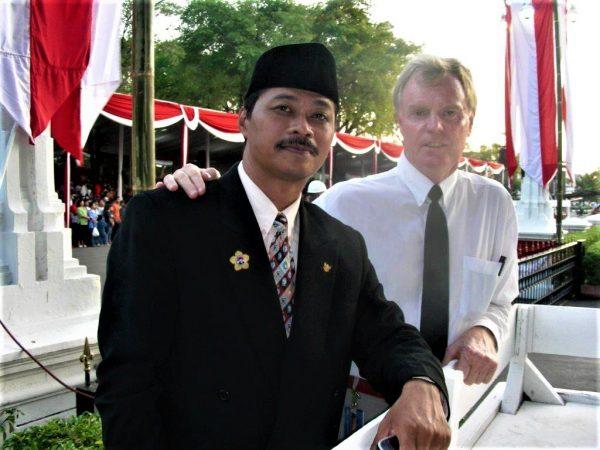 Neville Williams in Indonesia